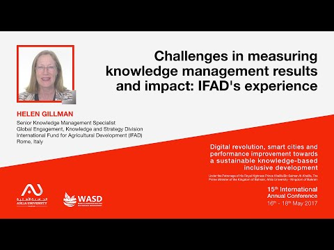 Challenges in measuring knowledge management results and impact: IFAD's experience