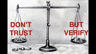 The Virtual Pub #7 - [DON'T] TRUST BUT VERIFY