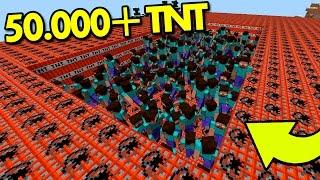 Minecraft: 50.000 TNT VS 1.000 HEROBRINE | Afreim [ DESAFIO TNT ]