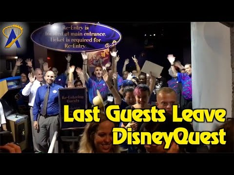 disneyquest-doors-closed,-last-guests-leave-for-final-time-at-disney-springs