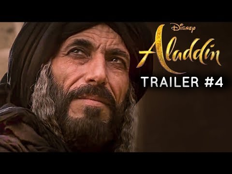 Aladdin(2019) - TRAILER #4 - Mena Massoud, Naomi Scott Film (RE-IMAGINED)