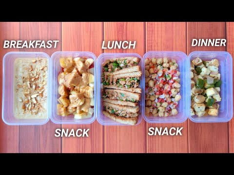 Meal Prep 2,500 calories in 30mins!! ( high protein ) • PURE VEG | 5 meals ����
