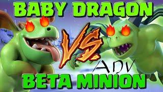 Full Dragons VS Minion và phù thủy bóng đêm: Clash Of Clans (67)