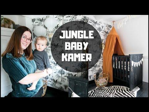 JUNGLE BABYKAMER | INTERIORJUNKIE | BABY TOUR #2