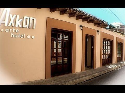 Axkan arte hotel youtube for Azulejos express san cristobal