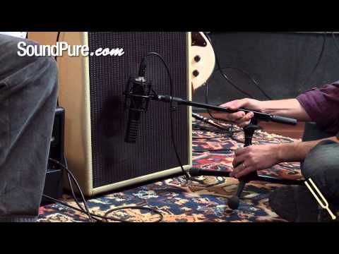 how-to-mic-an-electric-guitar---microphone-placement-on-an-amp