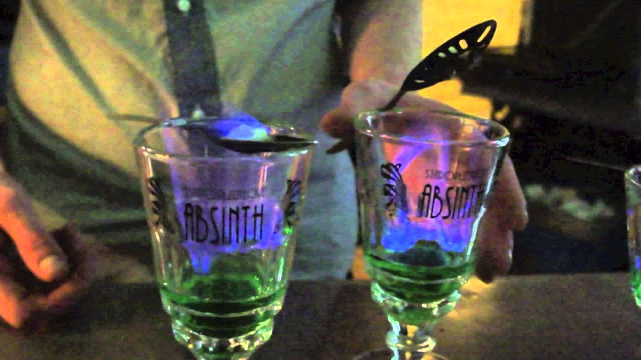 How to drink absinthe How to drink green absinthe 55 degrees with sugar 97