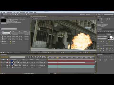 Tutorial membuat efek ledakan dengan After Effects