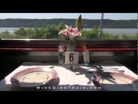 Wine Dine Train ~ EPICURUS ~ a Classic Pullman Dining Car