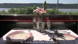 Wine Dine Train ~ EPICURUS ~ a Classic Pullman Dining Car