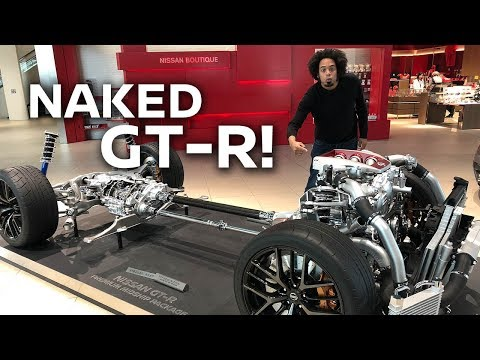 NAKED GT-R! Whats under the R35 bodywork?