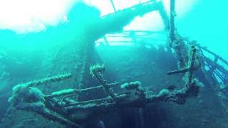 Shipwreck in the Red Sea:  CHICKEN WRECK