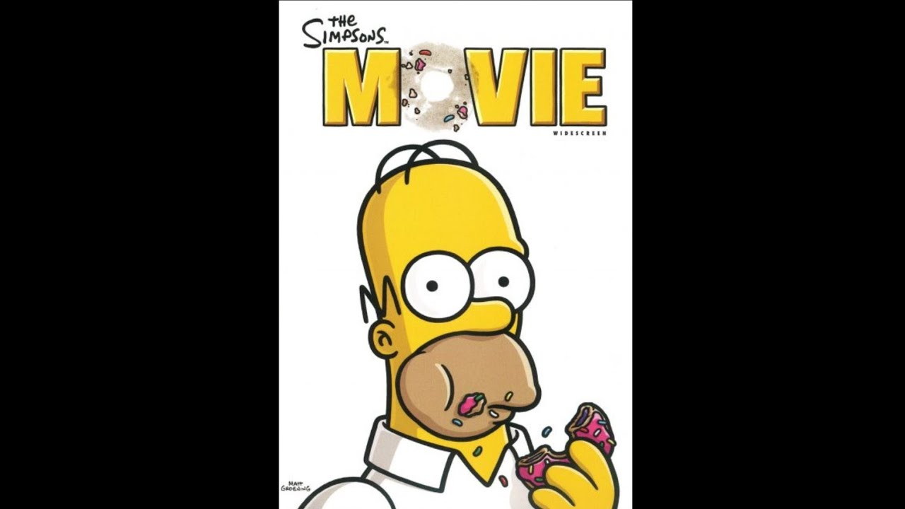 Opening To The Simpsons Movie Dvd Fullscreen 2014 Version Youtube