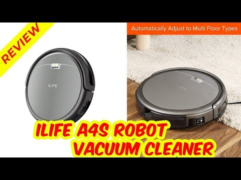 ILIFE A4s Review | ILIFE A4s Robot Vacuum Cleaner
