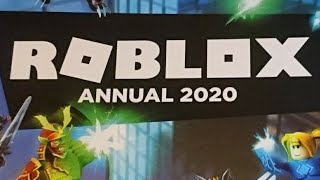 I GOT A ROBLOX ANNUAL 2020 (I speak canto)
