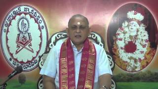 Srimad Bhagavad Gita CH 16: Day 7 : Shlokam 4 : Sri Chalapathirao : In Telugu