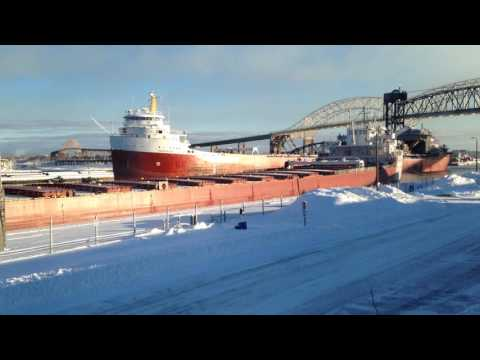 Great Lakes Freighter CSL Frontenac