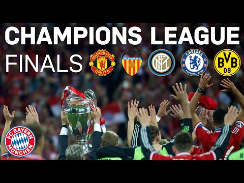 FC Bayern - All Final Matches In The Champions League
