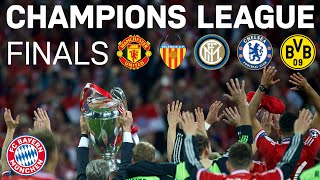 FC Bayern  All Final Matches in the Champions League