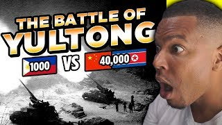 How 1,000 Filipino Troops Fought 40,000 Chinese Soldiers | reaction