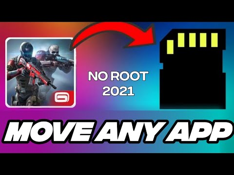 How to move unmovable apps to SD card no root