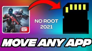 How to move unmovable apps to SD card [no root]