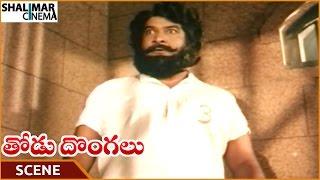 Thodu Dongalu Movie || Satyanarayana Best Introduction Scene || Chiranjeevi || Shalimarcinema