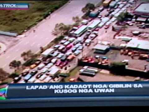 Metro Cebu Flood caused by Microburst - TV Patrol Central Visayas Jan 25, 2011