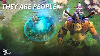 They are people