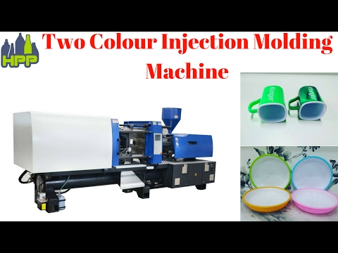 Two color injection molding machine automatic plastic moulding machine
