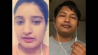 Tu chiz badi hai mast by NST_krish_saj + susmagautam Smule sing karaoke