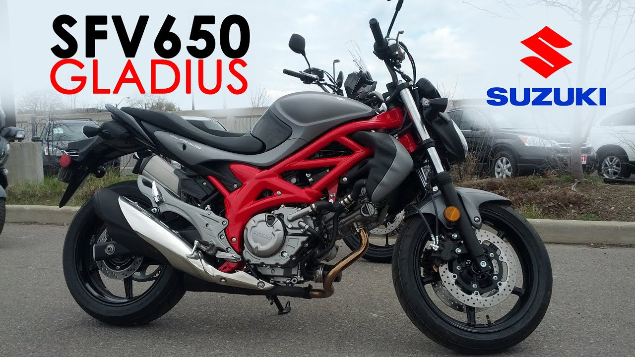 Suzuki Demo Ride - 2015 SFV650 Gladius - YouTube