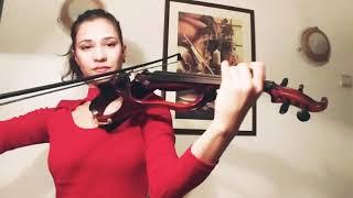 Fortevio Electric violin- Shallow-Lady Gaga,Bradley Cooper (violin cover)