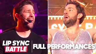 "John Krasinski Performs ""Bye Bye Bye"" & ""Proud Mary"" 