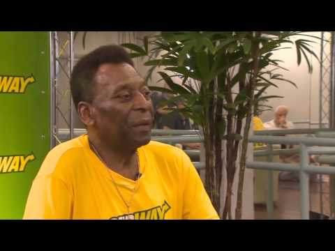 Pele talks to CNN ''Germany and Netherlands the best teams''
