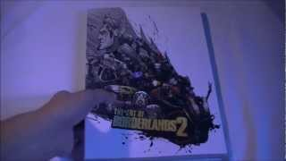 The Art Of Borderlands 2 Book Review - A quick look HD