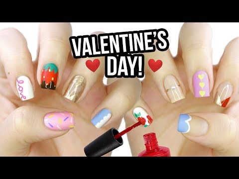 10 Valentine's Day Nail Art Designs: The Ultimate Guide 2019!