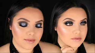 FULL FACE DRUGSTORE NEW YEARS MAKEUP TUTORIAL