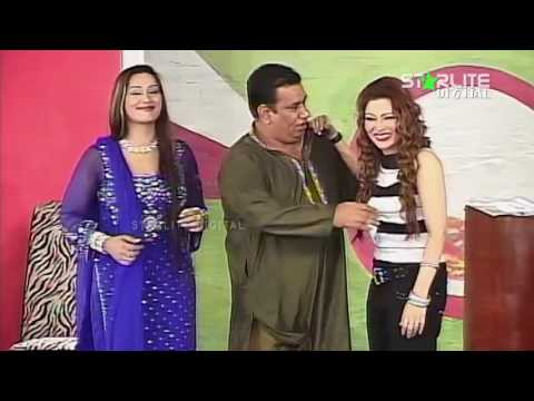 Best Of Khushboo, Naseem Vicky and Nasir Chinyoti New Pakistani Stage Drama Full Comedy Funny Clip