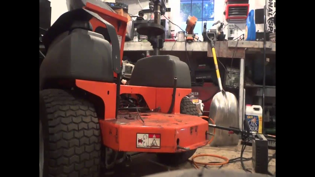 fuel line replacement on a craftsman lawn tractor youtube. Black Bedroom Furniture Sets. Home Design Ideas