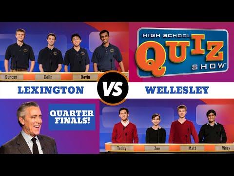 High School Quiz Show - Quarterfinal #3: Lexington vs. Wellesley (711)