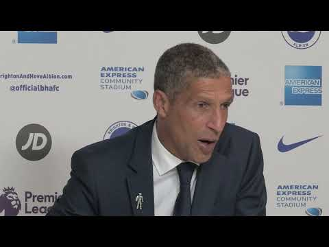 Hughton 'relieved' as Brighton secure first win