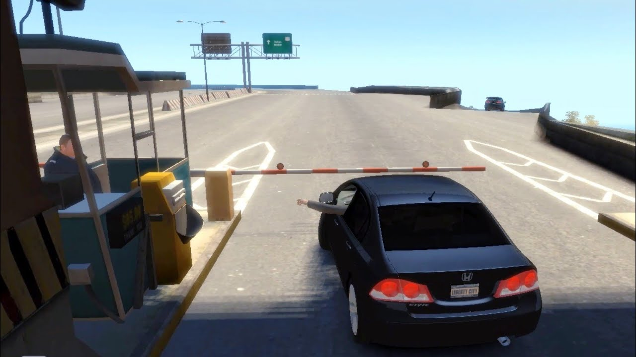#60 | Toll Plaza | Honda Civic Reborn | Gta IV Free Roam | Mazda Offroad | Jummah Mubarik