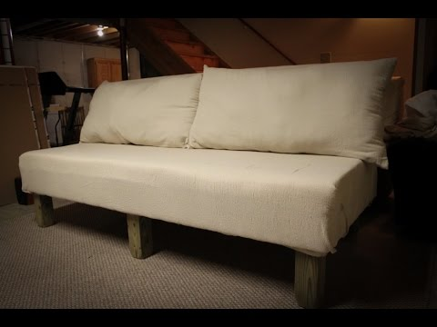 DIY Sectional Sofa YouTube