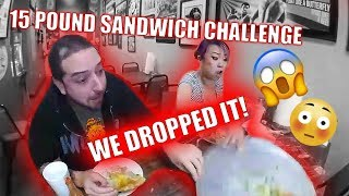 15 Pound Sandwich Challenge [WITH SURPRISE!]