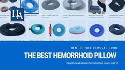 The Best Hemorrhoid Pillow of 2018 - Buyer Reviews & Guides for Hemorrhoid Donuts