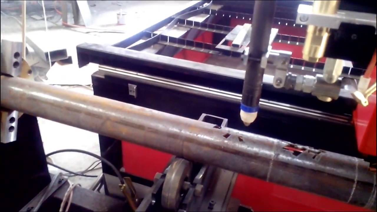 Tube Table Double Use Cnc Plasma Cutting Tube Pipe Machine