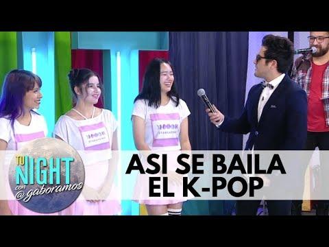 ¿Como se baila el k pop y Blackpink? Tu Night con Gabo Ramos