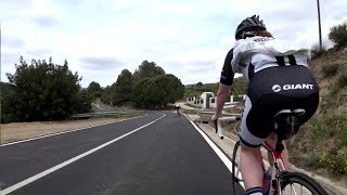 Uphill Training for Indoor Cycling Workout Full HD Motivation