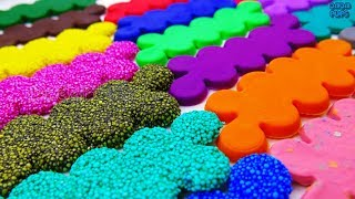 Learn Colors with Play Doh Squishy Glitter Foam | Learn All Europe Countries | 45 Europe Countries